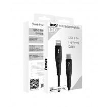 【imos】新愛瘋 USB-C to Lightning 防鯊網編織 1.2M 閃電連接線