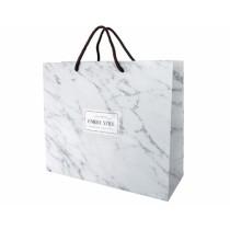 大理石時尚紙袋