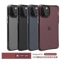 【U】by UAG iPhone12 霧透耐衝擊保護殼