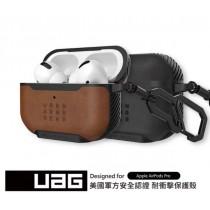 【UAG】AirPods Pro 皮革款耐衝擊保護殼
