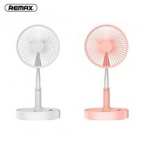 【REMAX】便攜可伸縮桌面落地扇