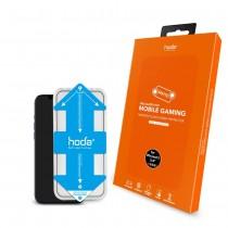 【HODA】IPHONE13 手遊專用霧面磨砂防眩光滿版玻璃保護貼
