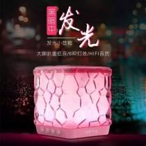 【藍芽喇叭】三麗鷗 LED燈光 藍芽音箱 水立方 小夜燈