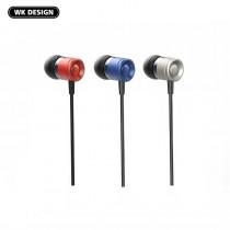 【WK】線控通話 音樂耳機