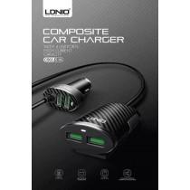 【LDNIO】力德諾 C502 5.1A 四口 通用車載充電器 USB車充